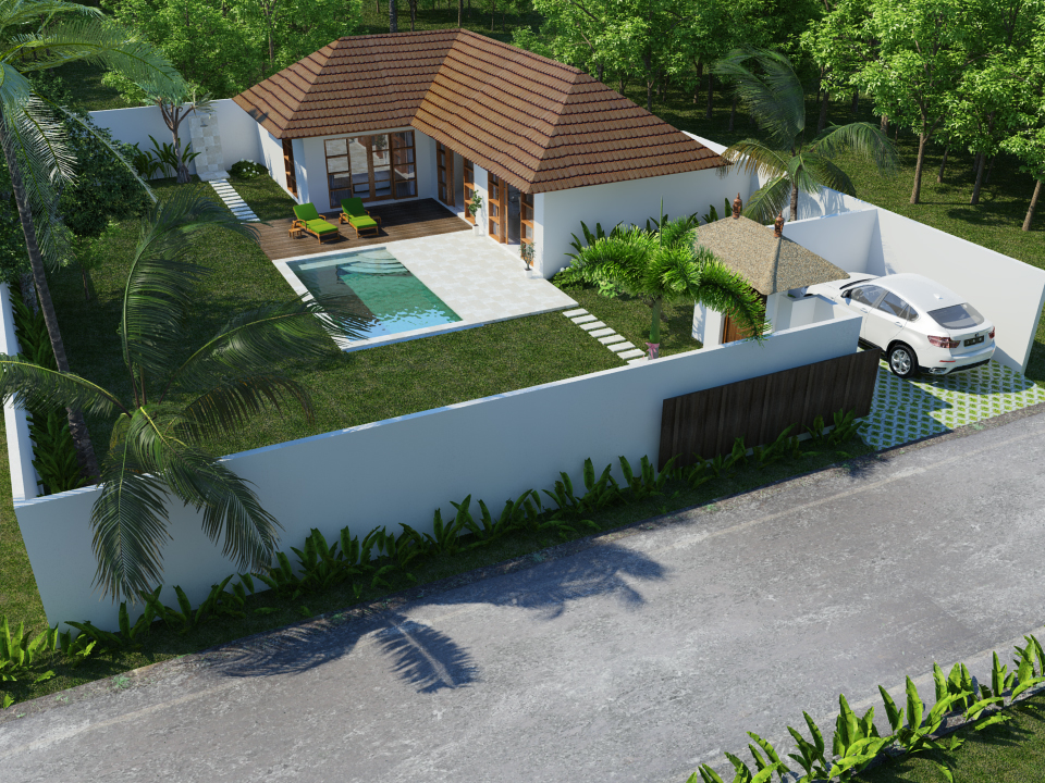 Special offer : 2 rooms villa with land
